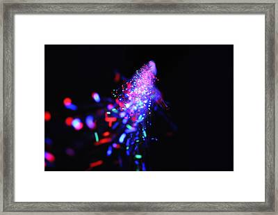Light Show1.2 Framed Print by Frederico Borges