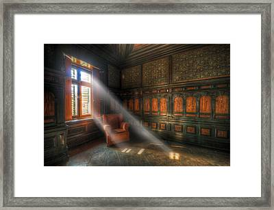 Light Sofa Framed Print by Nathan Wright