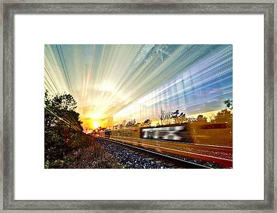 Light Speed Framed Print by Matt Molloy