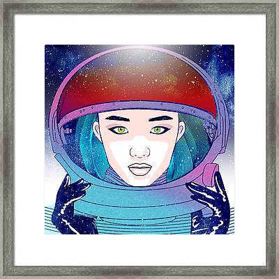 Light Speed Framed Print
