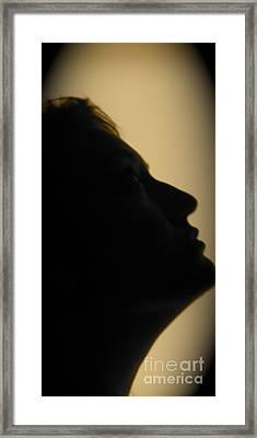 Light Study Sp 2 Framed Print by Ashley Ordines