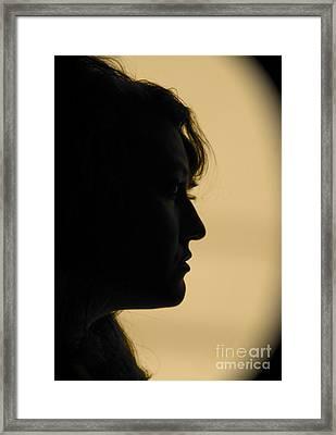 Light Study Sp Framed Print by Ashley Ordines