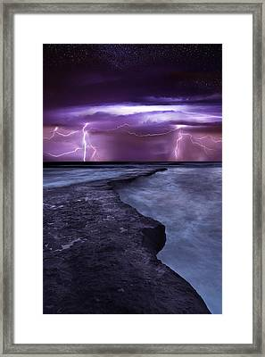 Light Symphony Framed Print