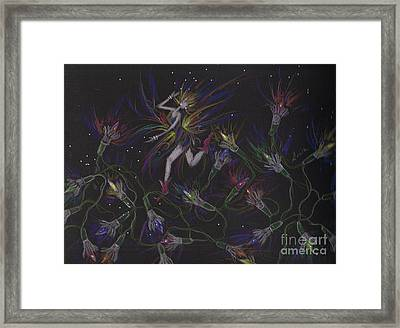 Light The Lights Framed Print
