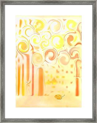 Light The Lights Framed Print by Mathilde Vhargon