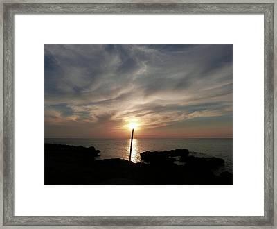 Light The Sun Framed Print by Amar Sheow