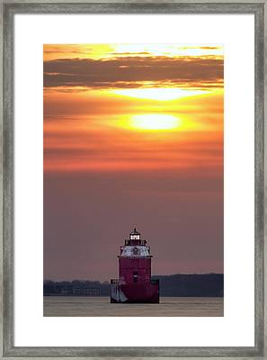 Light The Way Framed Print by Edward Kreis