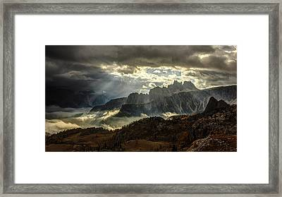 Light Theatre Framed Print