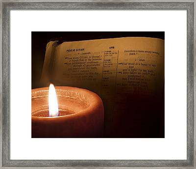 Light To My Path Framed Print by Andrew Soundarajan