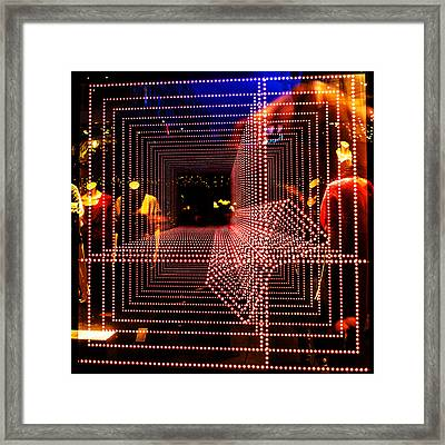 Light Tunnel Framed Print