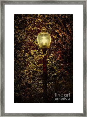 Light Unto Darkness - Greensboro North Carolina Framed Print by Dan Carmichael