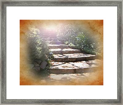 Light Unto My Path Framed Print