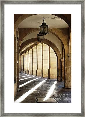 Light Unto My Path Framed Print