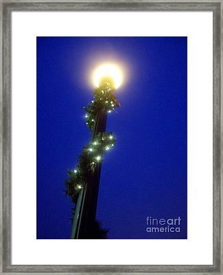 Light Up The Holidays Framed Print