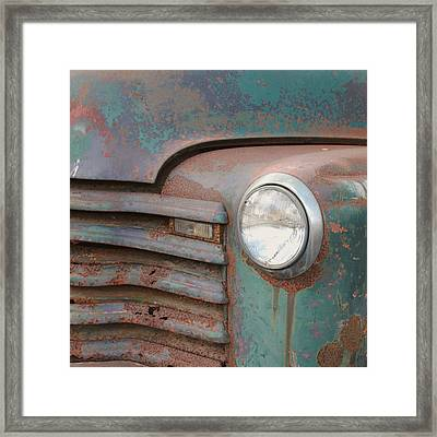 Light Up The Road Framed Print