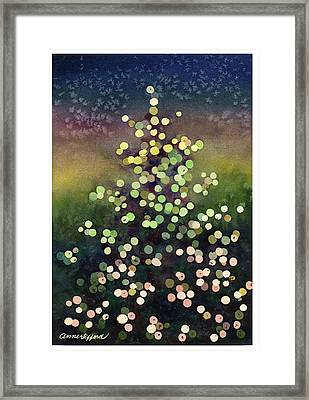 Light Up The Season Framed Print by Anne Gifford