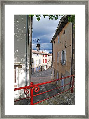 Light Up The Sky In St. Hillaire Framed Print