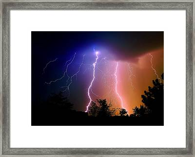 Light Up Your Life Framed Print