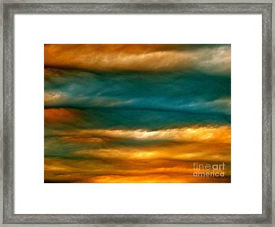 Light Upon Darkness Framed Print by Joy Hardee