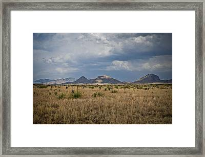 Light Upon The Hill Framed Print by Swift Family