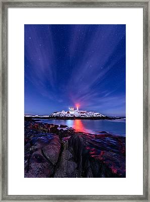 Light Vapor Framed Print by Michael Blanchette