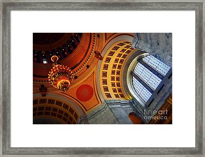 Light Vs. Light Framed Print