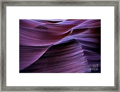 Light Waves Framed Print