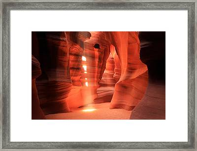 Light Within... Framed Print