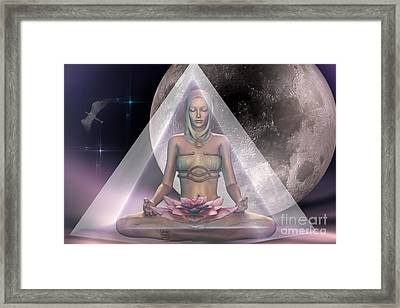 Light Within Framed Print by Shadowlea Is