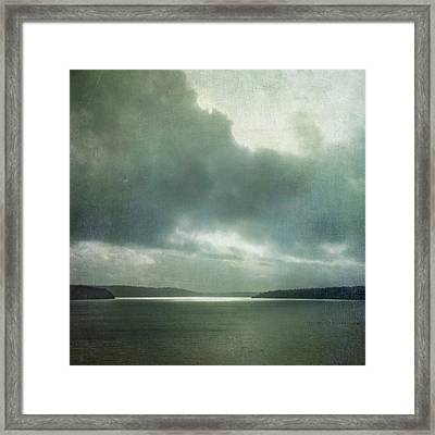 Light Within The Storm Framed Print