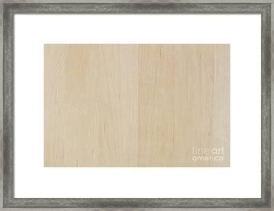 Light Wood Laminate Framed Print