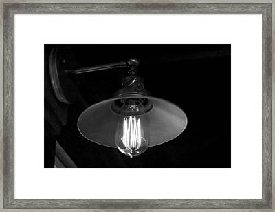 Lightbulb Framed Print