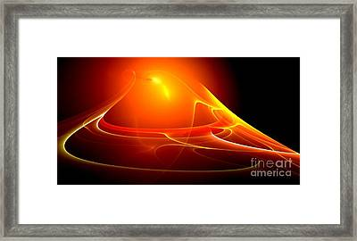 Lightdance   Framed Print by Peter R Nicholls