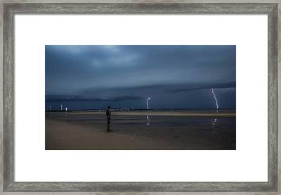 Lightning Strikes Twice Framed Print