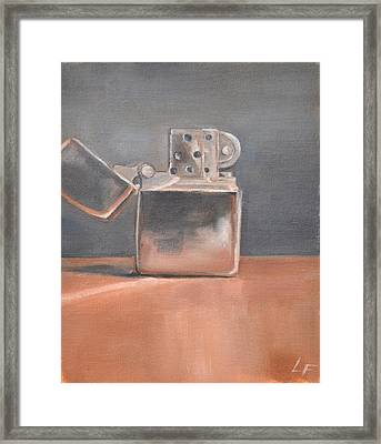 Framed Print featuring the painting Lighter by Lindsay Frost
