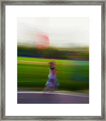 Framed Print featuring the photograph Lighter Than Air by Alex Lapidus