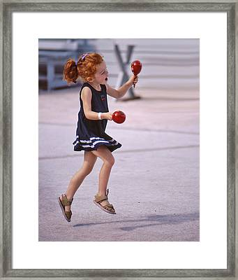 Lighter Than Air Framed Print
