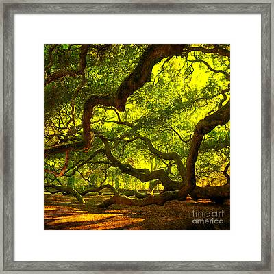 Lighter Version 40x40 Framed Print by Susanne Van Hulst