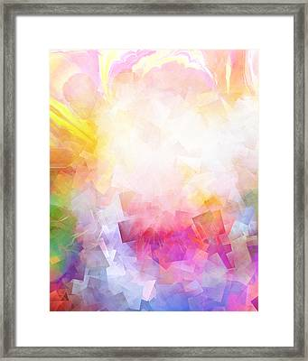 Lightforces Artwork Framed Print by Lutz Baar
