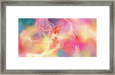 Lighthearted - Abstract Art Framed Print