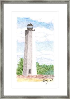 Lighthouse 1 Framed Print by Rod Ismay