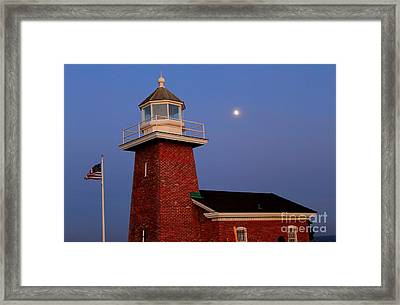 Framed Print featuring the photograph Lighthouse 7 by Theresa Ramos-DuVon