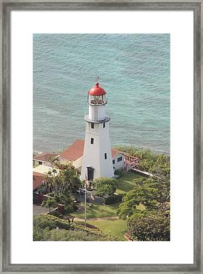 Lighthouse Framed Print by Adam Levine