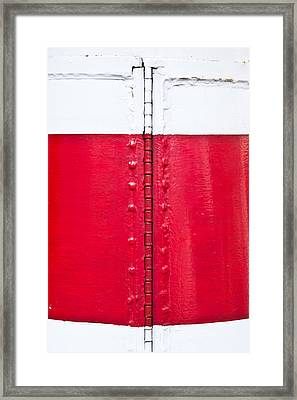 Lighthouse Architecture Framed Print by Tom Gowanlock