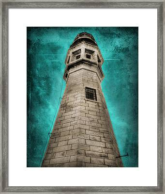 Lighthouse Art Framed Print by Cindy Haggerty