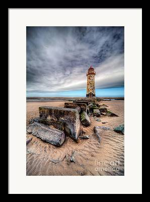 Talacre. Landmark Framed Prints