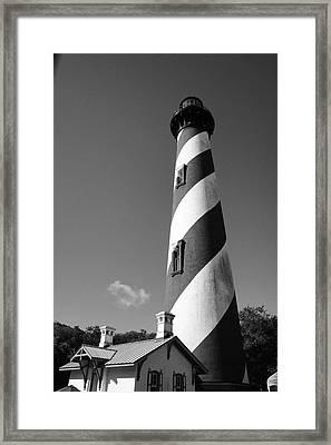 Lighthouse Framed Print by Brandon Addis