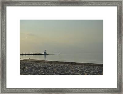 Lighthouse Framed Print by Cim Paddock