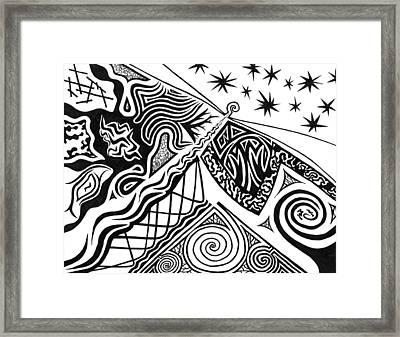 Lighthouse Framed Print by Kerri White