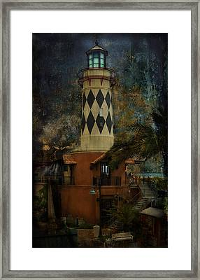 Lighthouse Framed Print by Mario Celzner